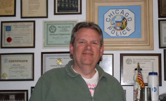 Bob Stasch of the Chicago Police Department