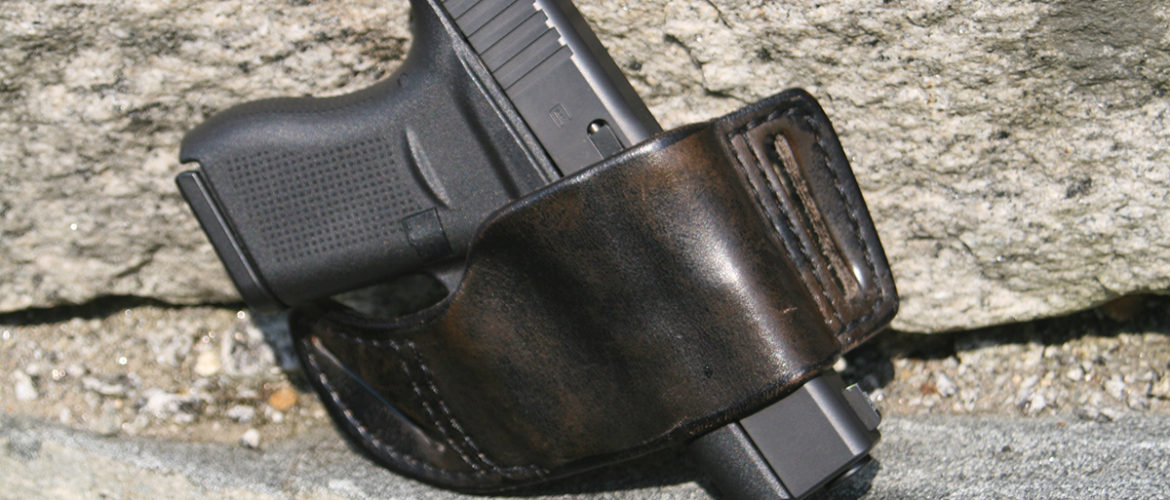 Glock 43 in a Flashbang Holster