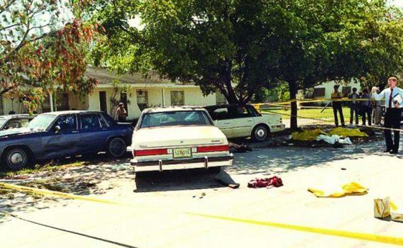Miami Shootout Scene