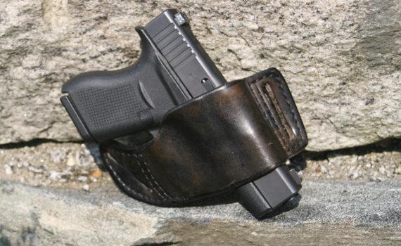 Glock 43 in a Flashbang Holster