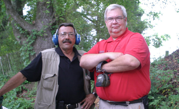 Massad Ayoob and Chris Edwards